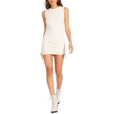 ユニセックス スカート ドレス Smokeshow Sleeveless Adjustable Rib Knit Mini Dress