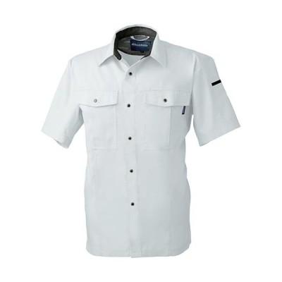桑和(SOWA) 半袖シャツ 22/シルバーグレー S〜LLサイズ 617 作業着 作業服 ワークウェア ウエア トップス メンズ
