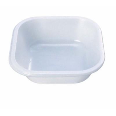 プラカップ白 角型 TZ-5 大(500枚入)    [7-1459-1301 6-1395-1301  ]