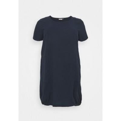 カフェ カーブ レディース ワンピース トップス KCNANA DRESS - Day dress - midnight marine midnight marine