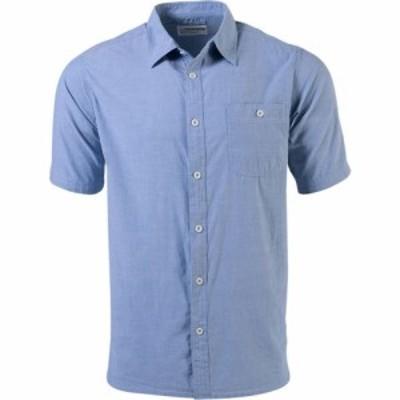 マウンテンカーキス Mountain Khakis メンズ 半袖シャツ シャンブレーシャツ トップス Mountain Chambray Short - Sleeve Shirt Stellar