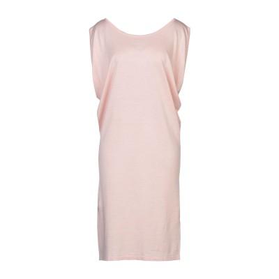 クルチアーニ CRUCIANI ミニワンピース&ドレス ライトピンク 42 シルク 70% / リネン 30% ミニワンピース&ドレス