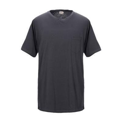 OFFICINA 36 T シャツ スチールグレー L コットン 100% T シャツ