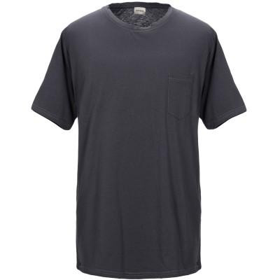 OFFICINA 36 T シャツ スチールグレー XL コットン 100% T シャツ