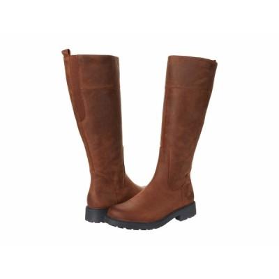 クラークス ブーツ&レインブーツ シューズ レディース Orinocco 2 Hi Tan Warmlined Leather