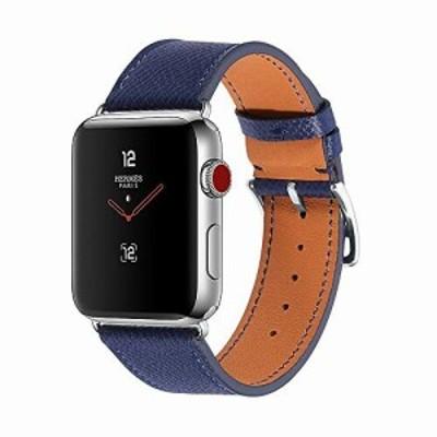 CHIMAERA コンパチブル Apple Watch 38MM 40MM 42MM 44MM 本革 女性メンズ アップルウォッチ ベルト 対応 iWatch Series 5/4/3/2/1 簡単