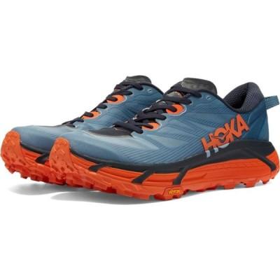 ホカ オネオネ Hoka One One メンズ スニーカー シューズ・靴 Mafate Speed 3 Provincial Blue/Carrot