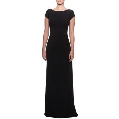 ラフェム ワンピース トップス レディース Ruched Jersey Gown Black