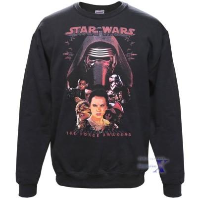 映画 (スターウォーズ) 米国公式製品 メンズ・スウェットシャツ(覚醒ブラック) Star Wars The Rise of Skywalker