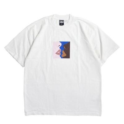オベイ ハーズ Tシャツ ホワイト 全4色 メンズ/半袖Tシャツ