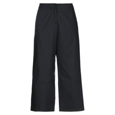 CARACTÈRE パンツ ブラック 38 コットン 100% パンツ