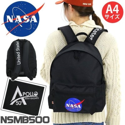 リュック NASA ナサ リュックサック デイパック バックパック バッグ A4 メンズ レディース 男女兼用 通勤 通学