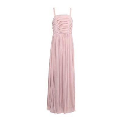 KATE BY LALTRAMODA ロングワンピース&ドレス ローズピンク L ポリエステル 100% ロングワンピース&ドレス