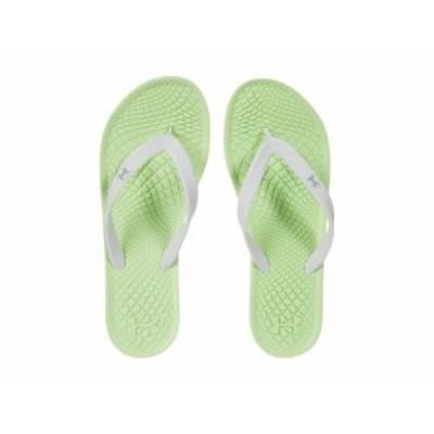 Under Armour アンダーアーマー レディース 女性用 シューズ 靴 サンダル UA Atlantic Dune T Summer Lime/Fisher Green【送料無料】