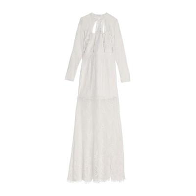 アレクシス ALEXIS ロングワンピース&ドレス ホワイト S ポリエステル 100% ロングワンピース&ドレス