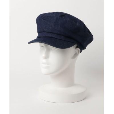FUNALIVE / 【SI ORIGINAL】DENIM MARINE 無地デニムマリンキャップ WOMEN 帽子 > キャスケット