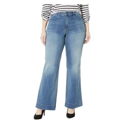 ユニセックス パンツ Plus Size Teresa Trousers in Clean Cabrillo