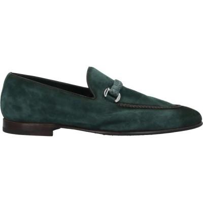 バレット BARRETT メンズ ローファー シューズ・靴 Loafers Dark green