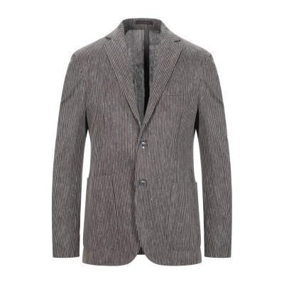 ザ ジジ THE GIGI テーラードジャケット ダークブラウン 56 コットン 57% / リネン 43% テーラードジャケット