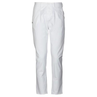 ダニエル アレッサンドリーニ DANIELE ALESSANDRINI パンツ ホワイト 30 98% コットン 2% ポリウレタン パンツ