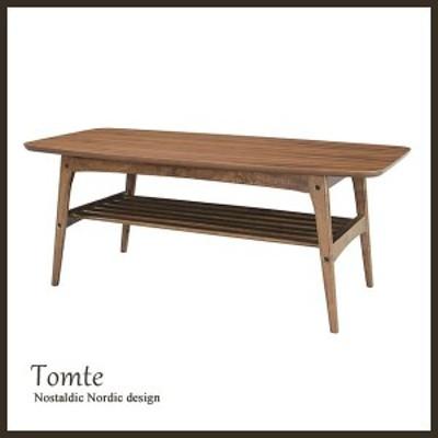 センターテーブル トムテ コーヒーテーブル L Tomte TAC-228WAL 木製