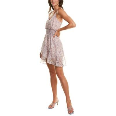 マディソンマーカス ワンピース トップス レディース Madison Marcus Ruffle Mini Dress blush