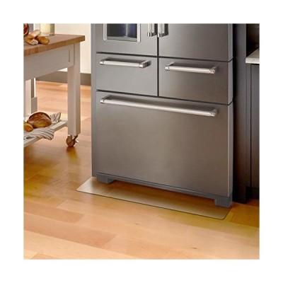 Mukeyo 冷蔵庫 傷防止 マット 無色 透明PVC 冷蔵庫用 キズ防止マット 凹み 床保護シート 床暖房対応 フローリン