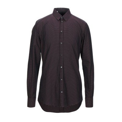 ドルチェ & ガッバーナ DOLCE & GABBANA シャツ ディープパープル 39 コットン 100% シャツ