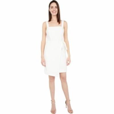 ベッツィ ジョンソン Betsey Johnson レディース ワンピース ミニ丈 ワンピース・ドレス Faux Wrap Mini White