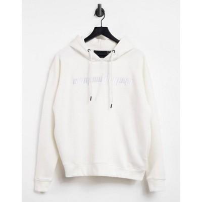 クリミナルダメージ レディース パーカー・スウェット アウター Criminal Damage oversized hoodie in off white