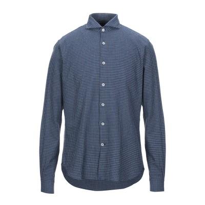 BARBATI シャツ ブルー 41 コットン 100% シャツ