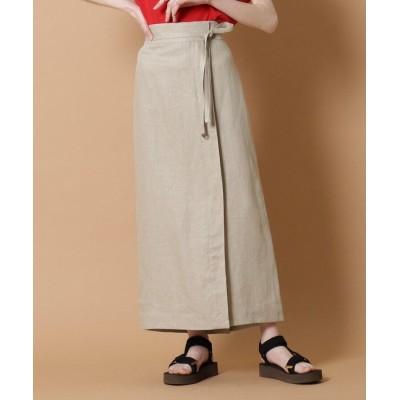 DRESSTERIOR(Ladies)(ドレステリア(レディース)) リネンマキシタイトスカート
