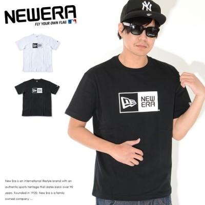 NEWERA ニューエラ Tシャツ 半袖 ボックスロゴ プリント (11783006 11783008)