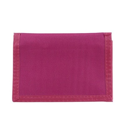Generic Men's Canvas Wallet Trifold Wallet Slim Teens Summer Value Onesize Pink【海外平行輸入品】