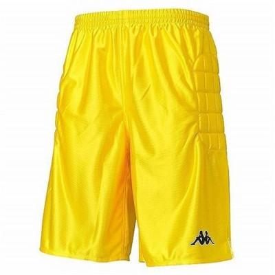 Kappaサッカー ジュニア パンツ キーパーパンツ KFCG7702 黄色イエロー