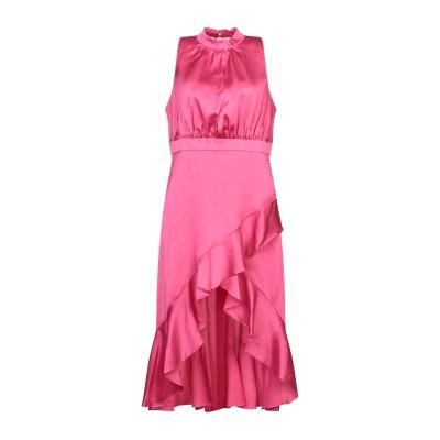 レリッシュ RELISH ミニワンピース&ドレス フューシャ XS ポリエステル 98% / ポリウレタン 2% ミニワンピース&ドレス