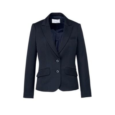 ジャケット 軽い ストライプ 5-17号 制服 オフィス 事務 事務服 企業制服 レディース オフィスユニフォーム