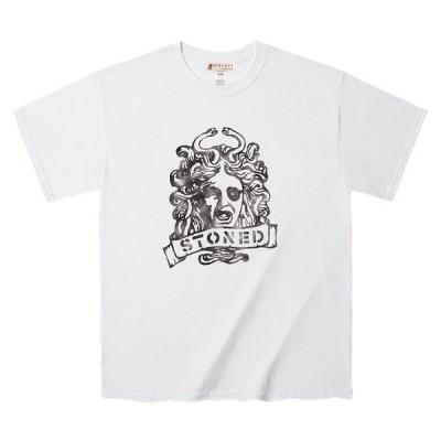 Tシャツ ギリシャ神話 怪物 メデューサ Tee