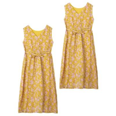 RETRO FLORAL 2WAY DRESS