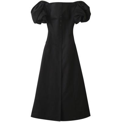 AKIRANAKA アキラナカ Mable オフショルダーコルセットドレス レディース ブラック 1