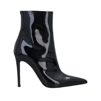 ELISABETTA FRANCHI ショートブーツ ブラック 37 革 ショートブーツ