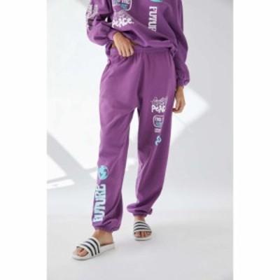 アーバンアウトフィッターズ Urban Outfitters レディース スウェット・ジャージ ボトムス・パンツ Find The Future Sweatpant Purple