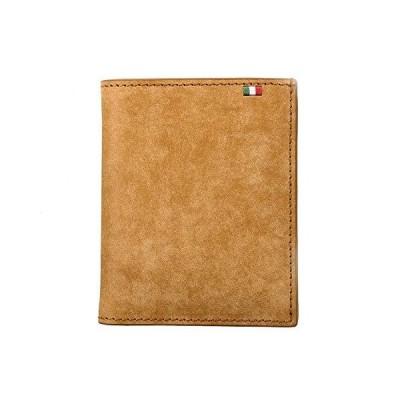 (ミラグロ)Milagro イタリアンヌバック・コンパクト財布 (財布 メンズ 二つ折り ブランド 本革 革 小銭入れ カード入れ ギフト