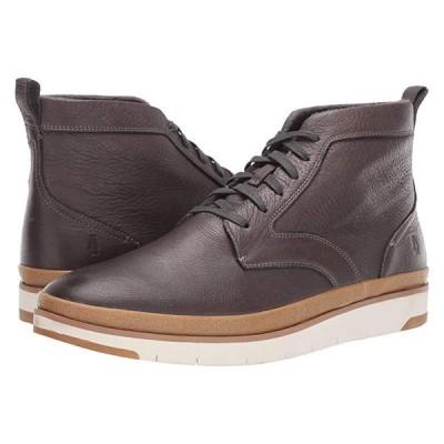 ハッシュパピー Caleb PT Boot メンズ ブーツ Dark Grey Leather