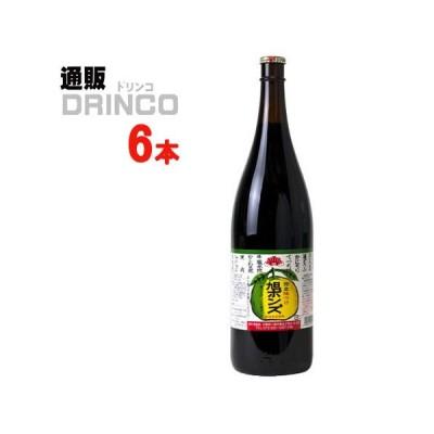ぽん酢 旭ポン酢 ぽんず ポン酢 1.8L 瓶 6 本 ( 6 本 × 1 ケース ) 旭食品