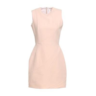VICTORIA, VICTORIA BECKHAM ミニワンピース&ドレス ピンク 12 ウール 100% ミニワンピース&ドレス