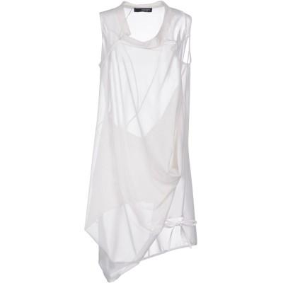 トムレベル TOM REBL ミニワンピース&ドレス ホワイト 38 ポリエステル 90% / ポリウレタン 10% ミニワンピース&ドレス