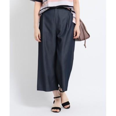 Reflect / 【WEB限定カラーあり/洗える】ラチネストレッチガウチョパンツ WOMEN パンツ > パンツ
