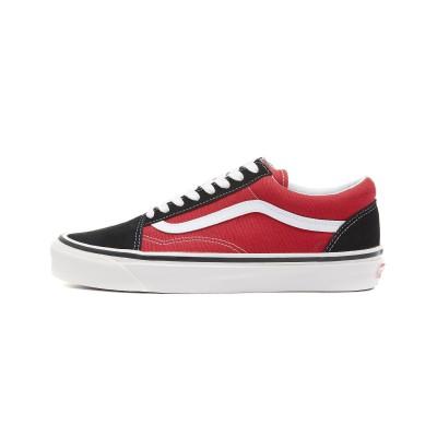 [VANS] ヴァンズ Old Skool オールドスクール 36 DX-(Anaheim Factory) og black og red VN0A38G2UBS