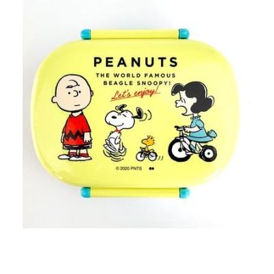 PEANUTS スヌーピー LUNCH SERIES ENJOY LUNCH BOX 弁当箱 ランチボックス お弁当 イエロー グッズ